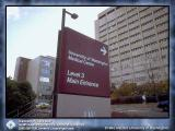 U of W Medical Center sign.